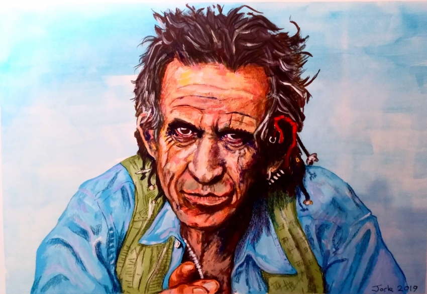Keith Richards por jockyp